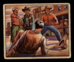 1949 Bowman Wild West #23 A  Dealing with Claim Front Thumbnail