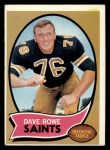 1970 Topps #101  Dave Rowe  Front Thumbnail