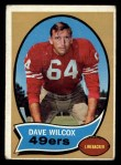 1970 Topps #57  Dave Wilcox  Front Thumbnail