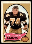 1970 Topps #22  Mike Tilleman  Front Thumbnail