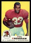 1969 Topps #21  Willis Crenshaw  Front Thumbnail