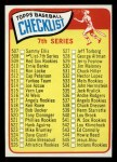 1965 Topps #508 LG  Checklist 7  Front Thumbnail