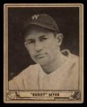 1940 Play Ball #17  Buddy Myer  Front Thumbnail