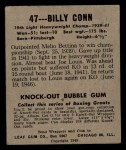 1948 Leaf #47  Billy Conn  Back Thumbnail
