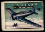 1952 Topps Wings #47   T-6 Texan Front Thumbnail