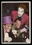 1966 Topps Batman Color #54   Penguin / Riddler / Joker Front Thumbnail