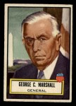 1952 Topps Look 'N See #107  George Marshall  Front Thumbnail