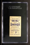 1910 M116 Sporting Life  Connie Mack  Back Thumbnail