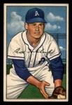 1952 Bowman #89  Billy Hitchcock  Front Thumbnail