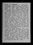 1950 Callahan Hall of Fame  Jack Chesbro  Back Thumbnail