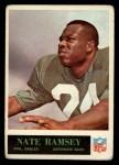 1965 Philadelphia #136  Nate Ramsey  Front Thumbnail
