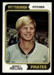 1974 Topps #116  Jerry Reuss  Front Thumbnail