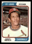 1974 Topps #151  Diego Segui  Front Thumbnail
