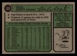 1974 Topps #22  Cy Acosta  Back Thumbnail