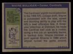 1972 Topps #236  Wayne Mulligan  Back Thumbnail
