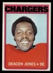 1972 Topps #209  Deacon  Jones  Front Thumbnail