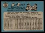 1965 O-Pee-Chee #100  Ken Boyer  Back Thumbnail