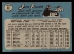 1965 O-Pee-Chee #93  Jack Fisher  Back Thumbnail
