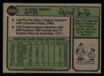 1974 Topps #328  Skip Jutze  Back Thumbnail