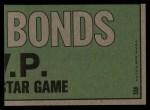 1974 Topps #338   -  Reggie Jackson / Billy Williams All-Star Right Fielders   Back Thumbnail