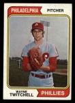 1974 Topps #419  Wayne Twitchell  Front Thumbnail
