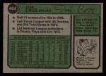 1974 Topps #464  Jose Cruz  Back Thumbnail