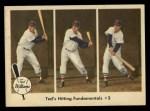 1959 Fleer #73   -  Ted Williams Hitting Fundamentals #3 Front Thumbnail