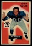 1955 Bowman #100  Alex Sandusky  Front Thumbnail