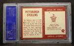 1967 Philadelphia #145   Pittsburgh Steelers Team Back Thumbnail