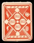 1951 Topps Red Back #31  Gil Hodges  Back Thumbnail