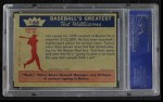 1959 Fleer #68   -  Ted Williams Ted Signs for  Back Thumbnail