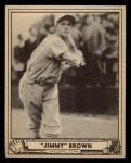 1940 Play Ball #112  Jimmy Brown  Front Thumbnail