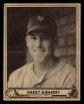 1940 Play Ball #86  Harry Gumpert  Front Thumbnail