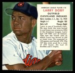 1955 Red Man #18 AL x Larry Doby  Front Thumbnail