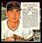 1955 Red Man #12 NL x Hoyt Wilhelm  Front Thumbnail