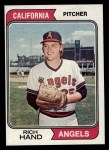 1974 Topps #571  Rich Hand  Front Thumbnail