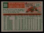 1959 Topps #300  Richie Ashburn  Back Thumbnail