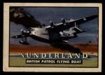 1952 Topps Wings #13   Sunderland Front Thumbnail