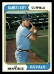 1974 Topps #262  Ed Kirkpatrick  Front Thumbnail