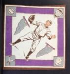 1914 B18 Blankets #32 PBP Bill McAllister   Back Thumbnail