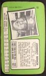 1971 Topps Super #32  Johnny Bench  Back Thumbnail