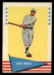 1961 Fleer #86  Zach Wheat  Front Thumbnail