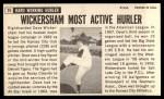 1964 Topps Giants #35  Dave Wickersham   Back Thumbnail