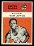 1961 Fleer #23  Sam Jones  Front Thumbnail