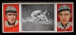 1912 T202 Hassan   -  Jim Archer / Ed Reulbach Evers Makes Safe Slide  Front Thumbnail
