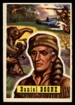 1956 Topps Round Up #41  Daniel Boone   Front Thumbnail