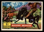 1956 Topps Round Up #72   -  Kit Carson Bucking Broncos Front Thumbnail