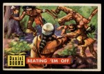 1956 Topps Round Up #44   -  Daniel Boone Beating em Off Front Thumbnail