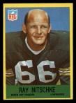 1967 Philadelphia #79  Ray Nitschke  Front Thumbnail