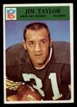 1966 Philadelphia #89  Jim Taylor  Front Thumbnail